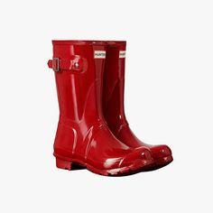 Fall's Best Boots for Under $500: Hunter Original CORE Short Gloss Boots, $140 hunterboots.com