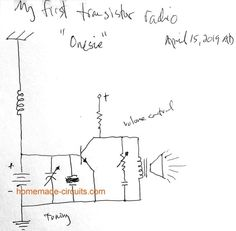 First Transistor, Transistor Radio, Hobby Electronics, Electronics Projects, Arduino Controller, Computer Projects, Short Waves, Circuit Design, Circuit Projects
