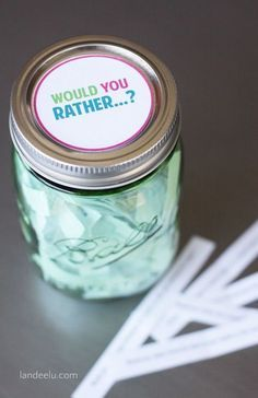 Road Trip Games for Teens and Tweens   landeelu.com Tons of great ideas to get you interacting with your teens as well as an awesome DIY Would You Rather Game!