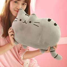 SHARE & Get it FREE | Cute Short Floss Cushion Cat Shape Design Soft PillowFor Fashion Lovers only:80,000+ Items·FREE SHIPPING Join Dresslily: Get YOUR $50 NOW!