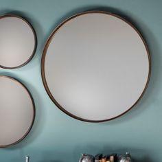 Reading Round Mirror (2pk) W610 x D40 x H610mm