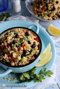 Pasta Salad, Side Dishes, Salads, Rice, Ethnic Recipes, Food, Bulgur, Crab Pasta Salad, Eten