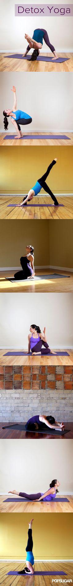 Detox Yoga: 8 poses