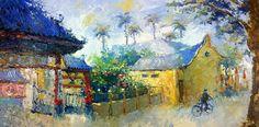 HoAn, Vietnam --- artist T.Tien