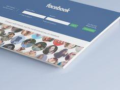 Ознакомьтесь с этим проектом @Behance: «Facebook Redesign» https://www.behance.net/gallery/36732361/Facebook-Redesign