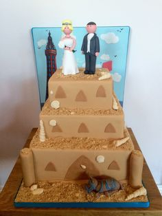 Congratulations to Lucy and Neil Mavin married today at Walworth Hall Hotel @BWwalworth Blackpool Sandcastle theme