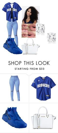"""""""Untitled #15"""" by kennadee-2 on Polyvore featuring NIKE and MICHAEL Michael Kors"""