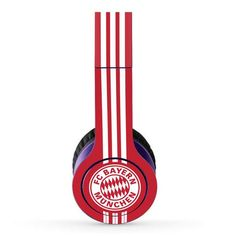 Bayern munich skin decal for Beat Solo HD by DR. Dre headphones - Decal Design