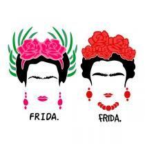 Frida Kahlo SVG Cuttable Design