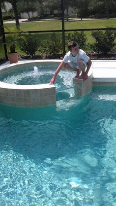 Adding A Spa On Existing Pool Spa Hot Tub Pool