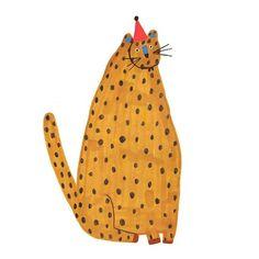 15 Ideas birthday design prints illustrations for 2019 Kids Collection, Art Brut, Happy Design, Happy Art, Art And Illustration, Illustration Animals, Cat Art, Art Inspo, Illustrators