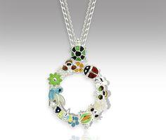 #O #Pendant Charmed, Pendant, Bracelets, Jewelry, Jewlery, Bijoux, Schmuck, Pendants, Jewerly