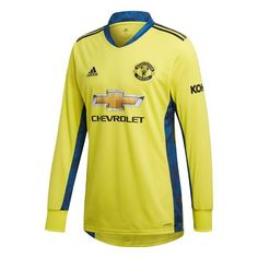 Manchester United Stadium, Adidas Performance, Goalkeeper, The Unit, Long Sleeve, Mens Tops, Polyester, Jersey, Material
