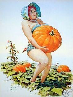 Hilda And The Pumpkin