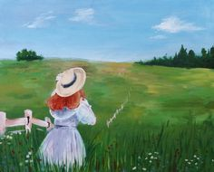 An 'Anne Of Green Gables' Inspired Painting.