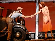 Photo 15 of 18 | Laura Osnes as Bonnie Parker in Bonnie & Clyde. | Bonnie & Clyde: Show Photos | Broadway.com