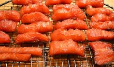 Candy Salmon ! A Canadian thing #smokedsalmon #canada #canadian
