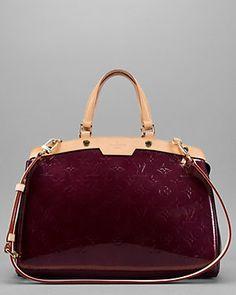 6859c9bf36a6 Louis Vuitton Rouge Fauviste Monogram Vernis Brea MM Diva Fashion