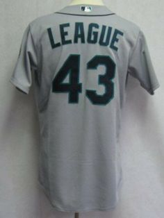 8a7a81ee2ed 2012 Seattle Mariners Brandon League #43 Game Issued Gray Away Jersey - Game  Used MLB Jerseys by Sports Memorabilia. $170.33. 2012 Seattle Mariners  Brandon ...