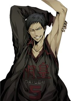 Kuroko no Basket Render - Aomine Daiki by WhateverheadDrop.deviantart.com on @DeviantArt
