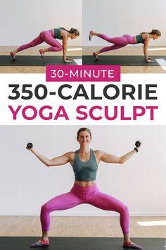 350-Calorie Yoga Workout