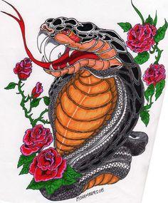 Snake Tattoo by guitargold.deviantart.com on @deviantART