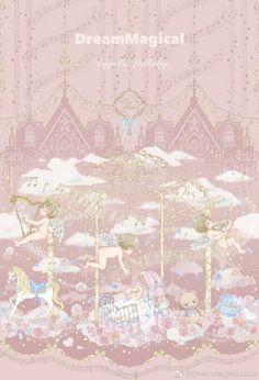 Dream Magical -Angel's Lullaby- Sweet Lolita Normal Waist Jumper Dress