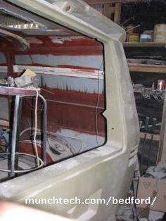 custom CF van in etch primer