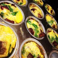 Today's breakfast: paleo egg muffins
