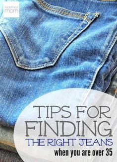 Feel like your body made a detour somewhere after you had your first kid and now shopping for jeans is in the same category as swimsuit shopping? Here are some tips, tricks and recommendations on finding the right jeans when you are over 35.