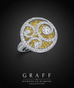 Graff Diamonds: Diamond on Diamond Ring