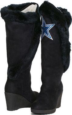 679ced1ef Dallas Cowboys The Cheerleader Boots Dallas Cowboys Shoes