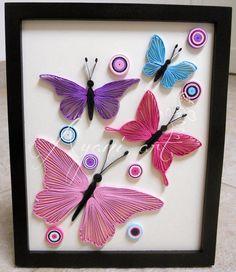 Ayani art: Quilled butterflies