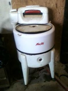 My grandmother's ringer washer