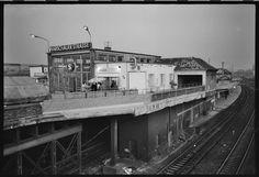 Berlin | DDR. S-Bahnhof Warschauerstrasse 1993