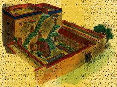 ancient house | Wealthy Israelite House (Bible History Online)