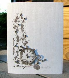 Rapport från ett skrivbord: Bring the Bling Hand Made Greeting Cards, Greeting Cards Handmade, Card Making Inspiration, Making Ideas, Paper Cards, Men's Cards, Message Card, Card Maker, Masculine Cards