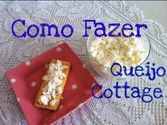 Como fazer queijo cottage caseiro - YouTube