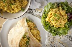 Trader Joe's Copycat Curried Chicken Deli Salad Healthified: aka Really Awesome Curry Chicken Salad