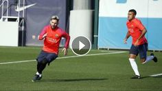 FC Barcelona training session: Everything ready for the visit of Granada: ---- FC Barcelona on Social Media Subscribe to our official…
