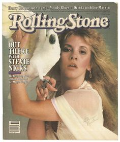 Stevie Nicks on the cover of Rolling Stone, 1981.