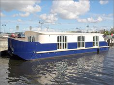 House boats present a unique and challenging opportunity for Doug Pitassi's boat building shop in Galveston, Texas.