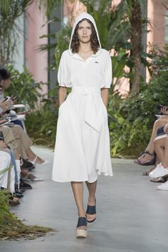 LACOSTE NY COLLECTION   LACOSTE SPRING/SUMMER 2017 NY RUNWAY ...