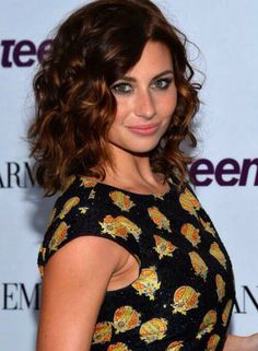 Pretty sure this is how I want to get my hair cut! aly michalka | curly short hair