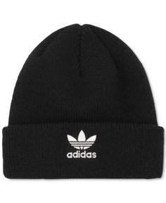 Adidas Kids  Trefoil Beanie - Black Enfants Adidas d0f032f0d004