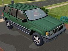 Mod The Sims - 1994 Jeep Grand Cherokee