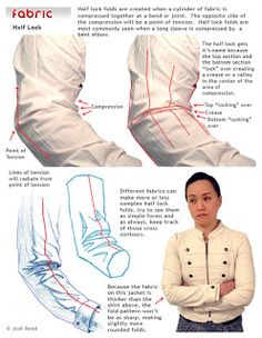 Drawsh: Fabric: Half Lock Folds