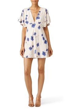 Rent Poppy Toss Dress by Free People for $30 - $45 only at Rent the Runway.