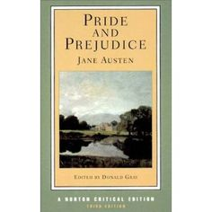 Pride and Prejudice (Norton Critical Editions) - Jane Austen, Paperback price comparison. Find great prices for Pride and Prejudice (Norton Critical Editions) - Jane Austen, Paperback. I Love Books, Great Books, Books To Read, My Books, Reading Books, Jessica Hische, Classic Literature, Classic Books, Victorian Literature