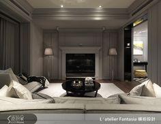 新古典的裝潢圖片為L′atelier Fantasia 繽紛設計的設計作品,該設計案例是一間新成屋(5年以下)總坪數為55,格局為三房,更多L′atelier Fantasia 繽紛設計設計案例作品都在設計家 Searchome